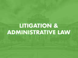 Litigation Administrative Law